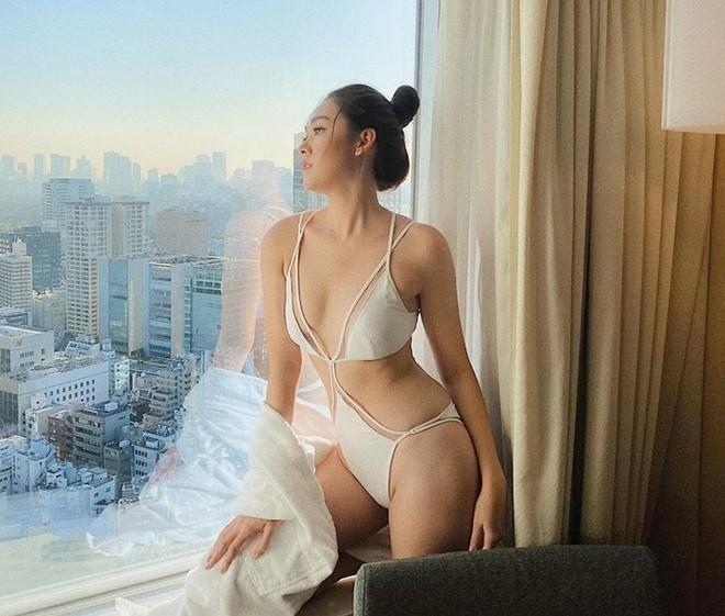 Á hậu Tường San khoe dáng bikini trước đêm chung kết - ảnh 1