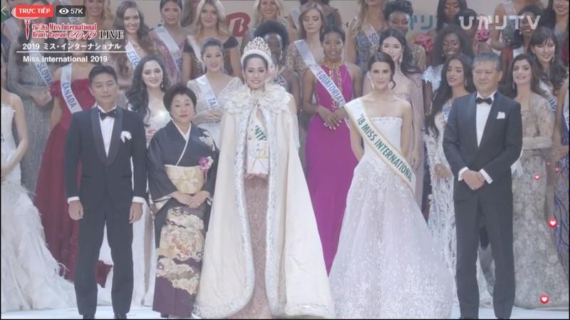 Người đẹp Thái Lan đăng quang Hoa hậu Quốc tế 2019 - ảnh 5
