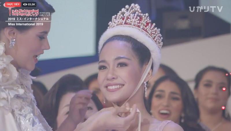 Người đẹp Thái Lan đăng quang Hoa hậu Quốc tế 2019 - ảnh 2