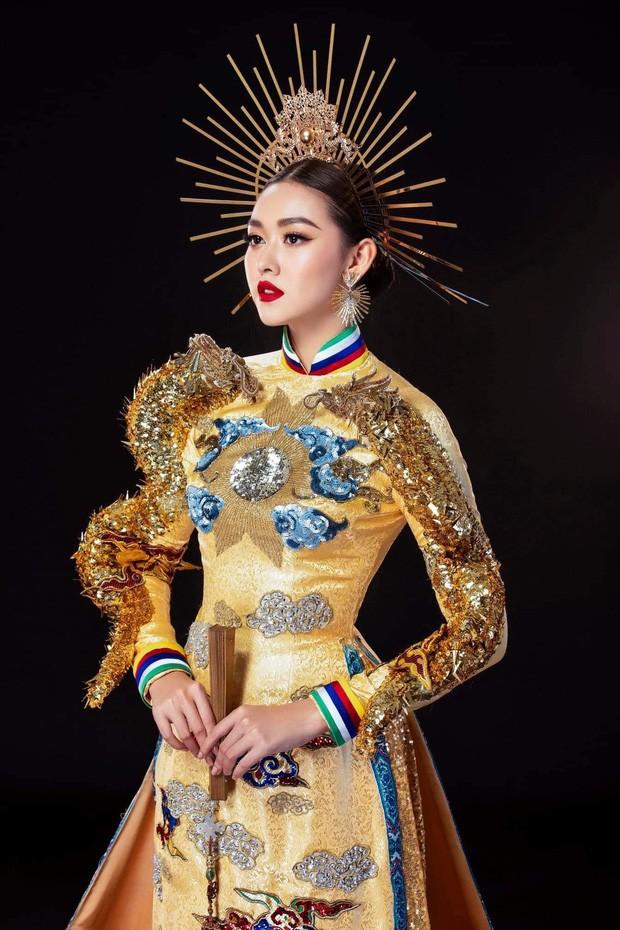 Tường San đoạt giải Quốc phục đẹp nhất Hoa hậu Quốc tế 2019 - ảnh 2