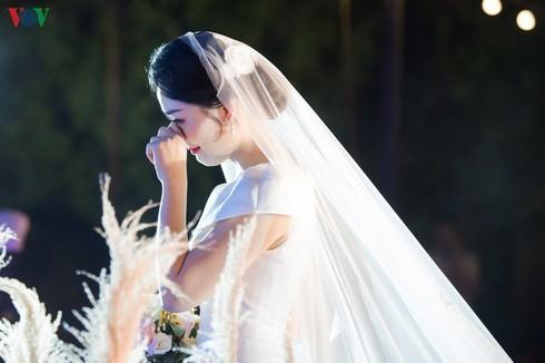 Chùm ảnh đám cưới biên tập viên Thu Hà của VTV  - ảnh 3