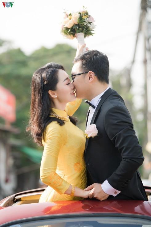 Chùm ảnh đám cưới biên tập viên Thu Hà của VTV  - ảnh 4