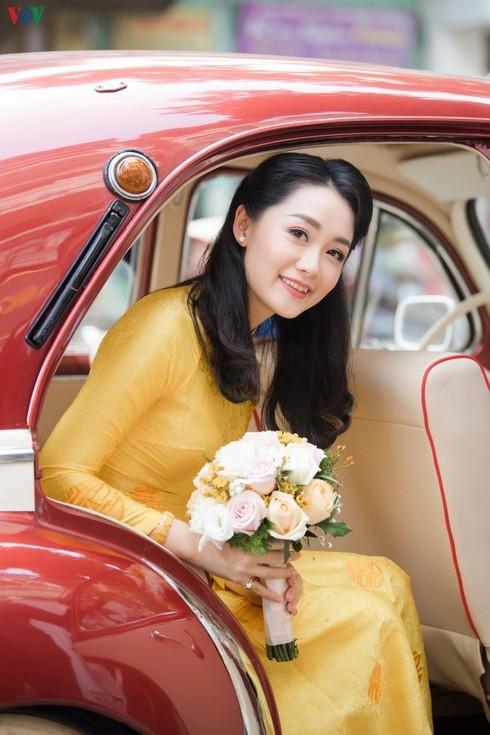 Chùm ảnh đám cưới biên tập viên Thu Hà của VTV  - ảnh 2