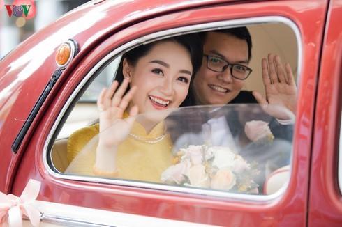 Chùm ảnh đám cưới biên tập viên Thu Hà của VTV  - ảnh 1