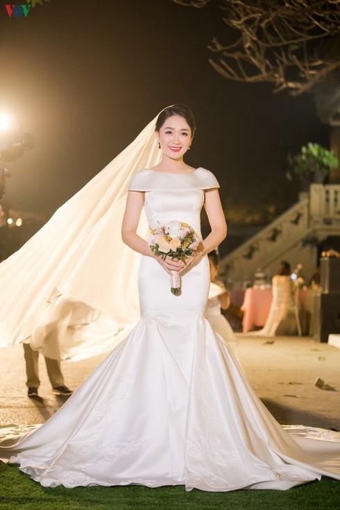 Chùm ảnh đám cưới biên tập viên Thu Hà của VTV  - ảnh 7