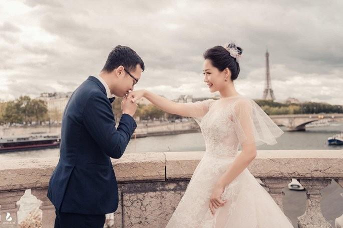 Chùm ảnh đám cưới biên tập viên Thu Hà của VTV  - ảnh 9