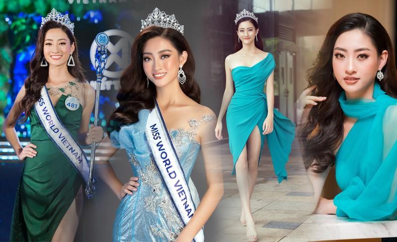 Chùm ảnh Lương Thùy Linh trước khi sang Anh thi Miss World - ảnh 7