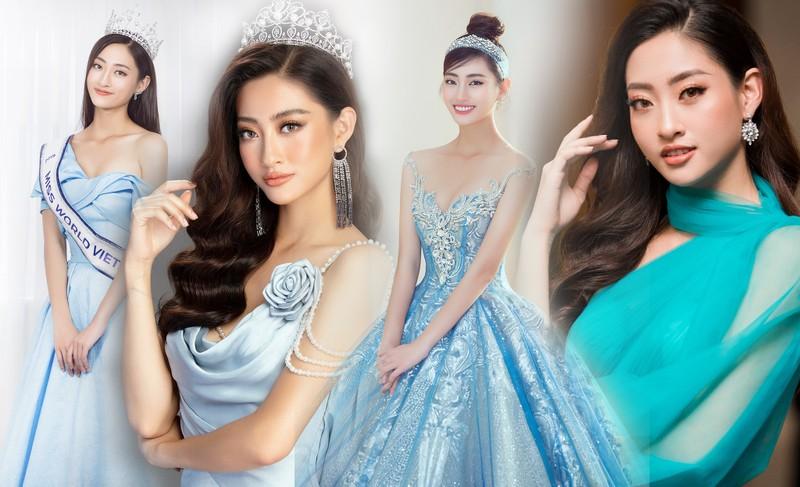 Chùm ảnh Lương Thùy Linh trước khi sang Anh thi Miss World - ảnh 2