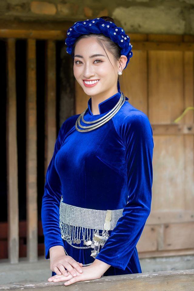Chùm ảnh Lương Thùy Linh trước khi sang Anh thi Miss World - ảnh 6