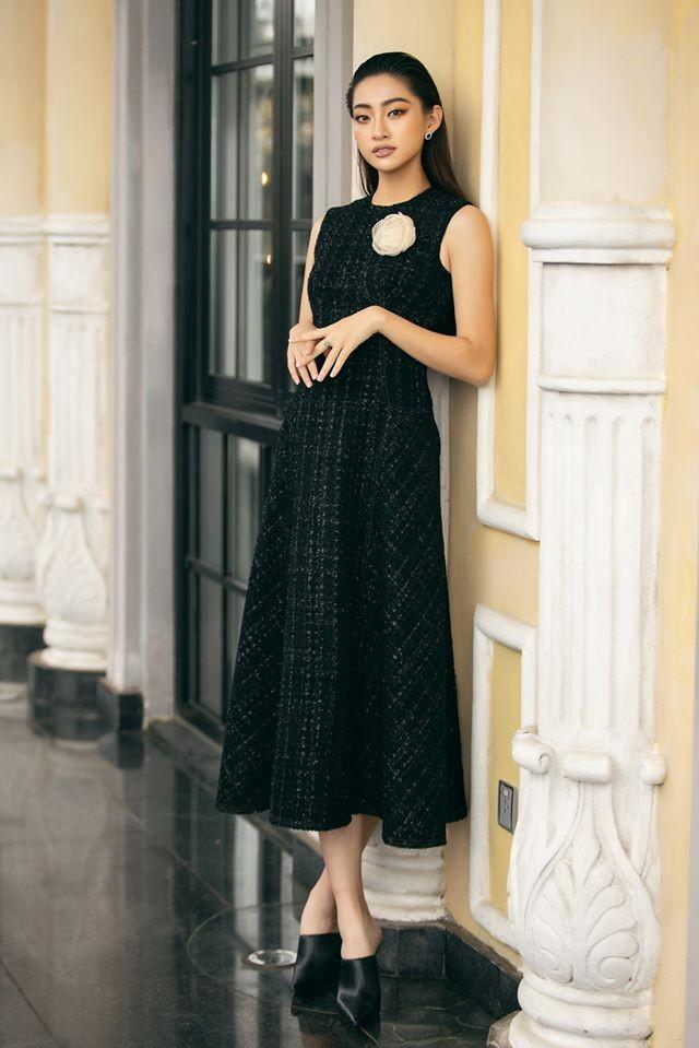 Chùm ảnh Lương Thùy Linh trước khi sang Anh thi Miss World - ảnh 12