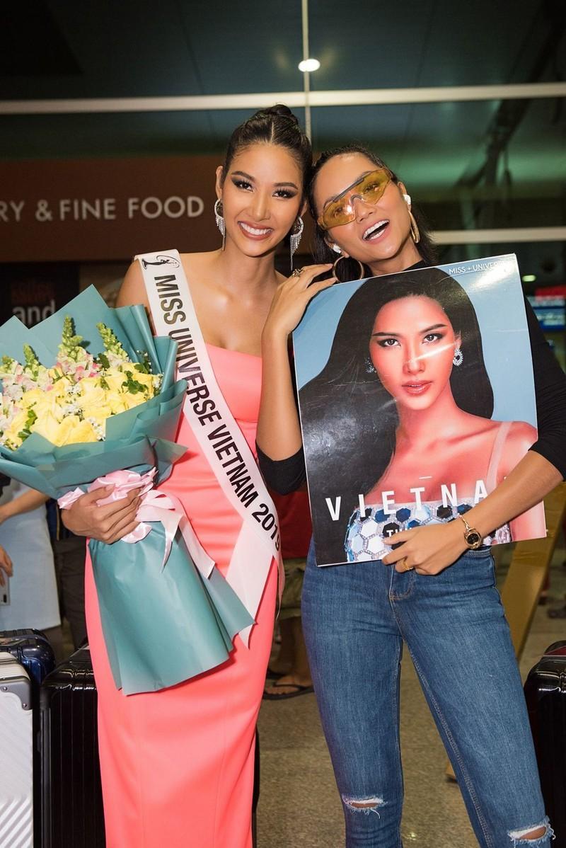 Hoàng Thùy đã chính thức sang Mỹ thi Miss Universe 2019 - ảnh 5