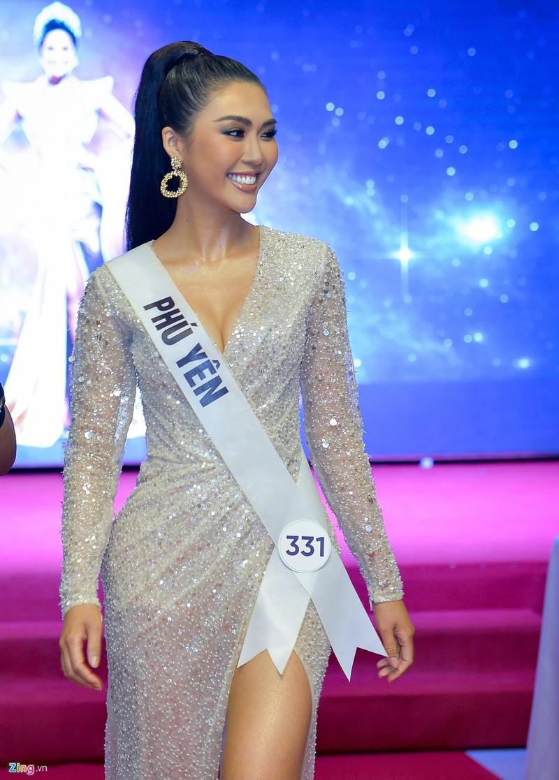 Tường Linh có nụ cười đẹp nhất Hoa hậu Hoàn vũ Việt Nam - ảnh 1