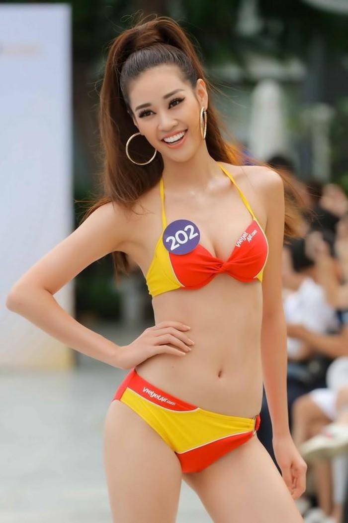 Khánh Vân xuất sắc đoạt giải Best catwalk Hoa hậu Hoàn vũ - ảnh 5