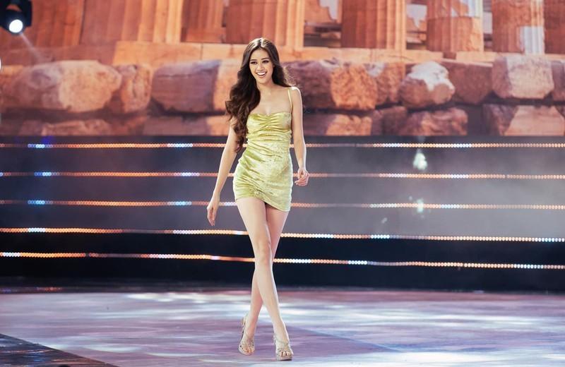 Khánh Vân, Hương Ly,Kim Duyên catwalk đẹp nhất Hoa hậu Hoàn vũ - ảnh 2