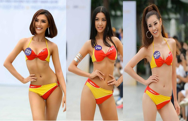 Ngắm 10 người đẹp biển nóng bỏng tại Hoa hậu Hoàn vũ 2019