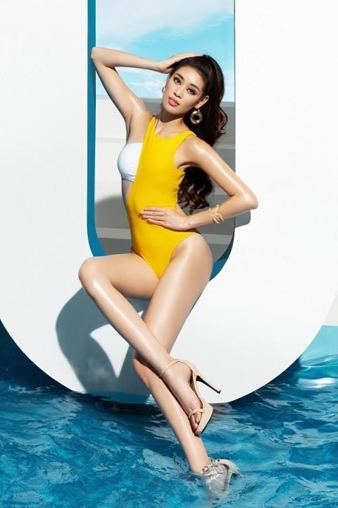 Tân Hoa hậu Hoàn vũ Khánh Vân nóng bỏng với bikini - ảnh 9