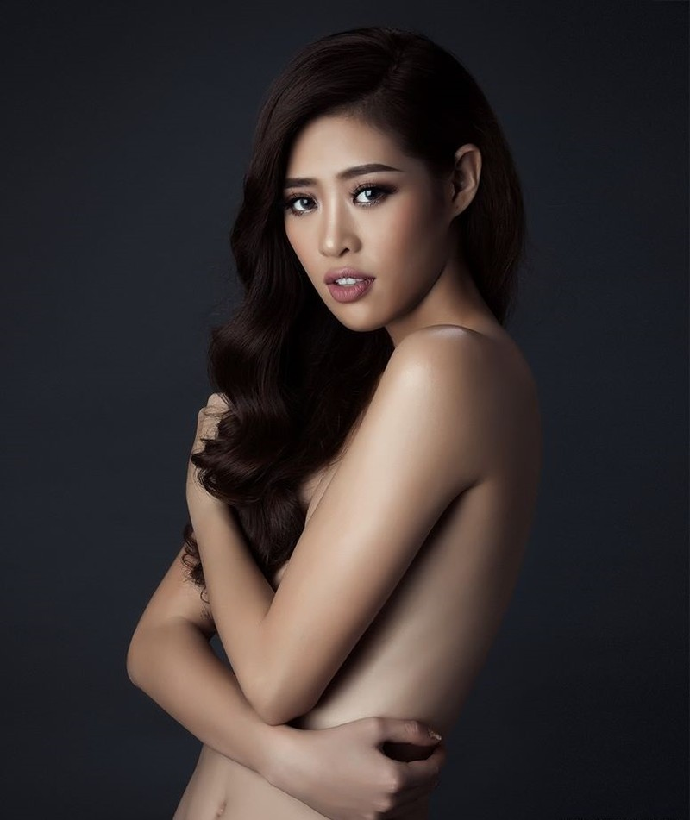 Tân Hoa hậu Hoàn vũ Khánh Vân nóng bỏng với bikini - ảnh 15