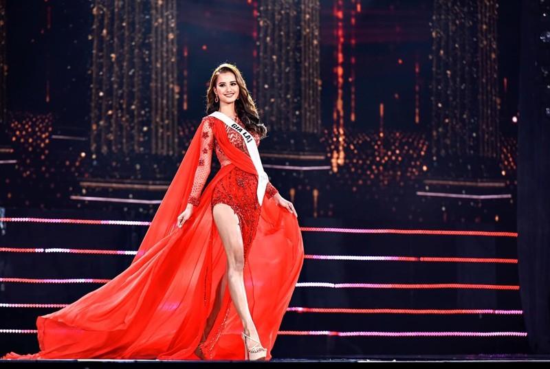Khánh Vân, Hương Ly,Kim Duyên catwalk đẹp nhất Hoa hậu Hoàn vũ - ảnh 6