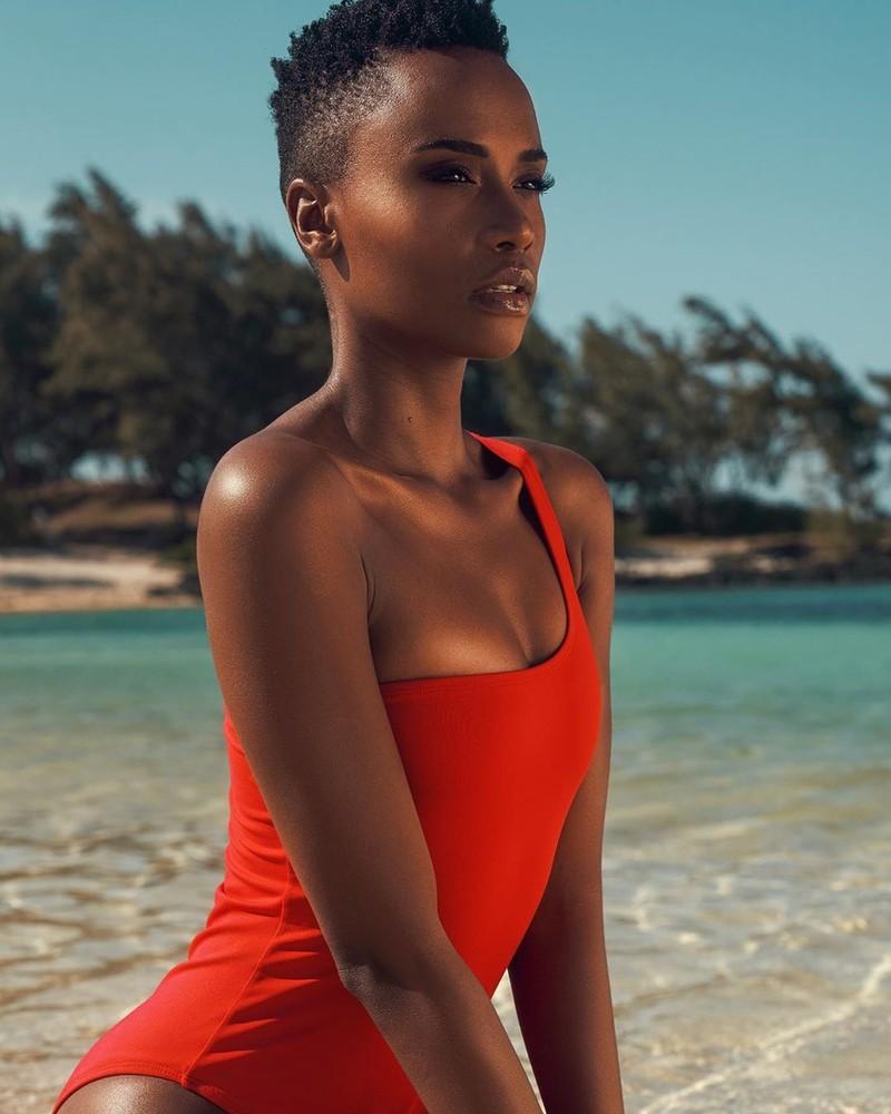 Ngắm vẻ đẹp của tân Hoa hậu Hoàn vũ thế giới 2019 - ảnh 4