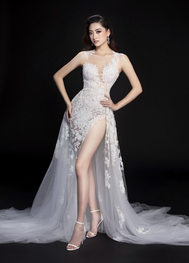 Ngắm Lương Thùy Linh trước giờ G chung kết Hoa hậu Thế giới - ảnh 5