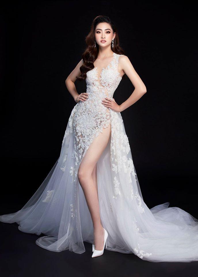 Ngắm Lương Thùy Linh trước giờ G chung kết Hoa hậu Thế giới - ảnh 2