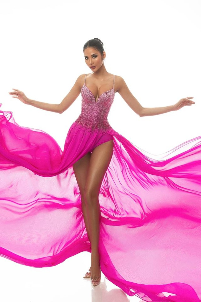 Hoàng Thùy dừng thi sắc đẹp khi ở tốp 20 Miss Universe 2019 - ảnh 2