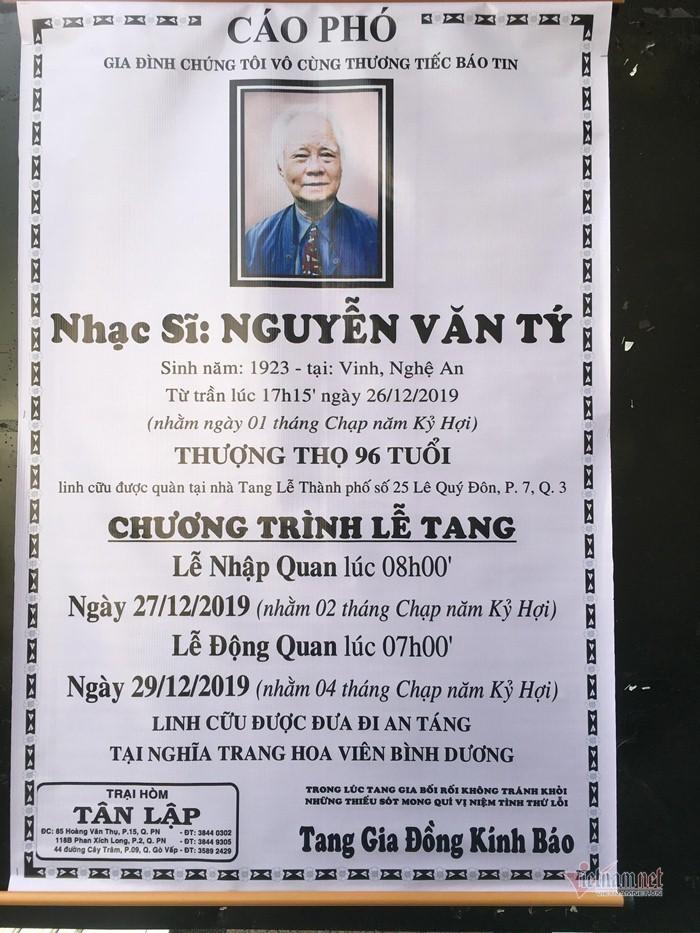 Nhạc sĩ Nguyễn Văn Tý tuổi Tý hay tuổi Sửu - ảnh 5