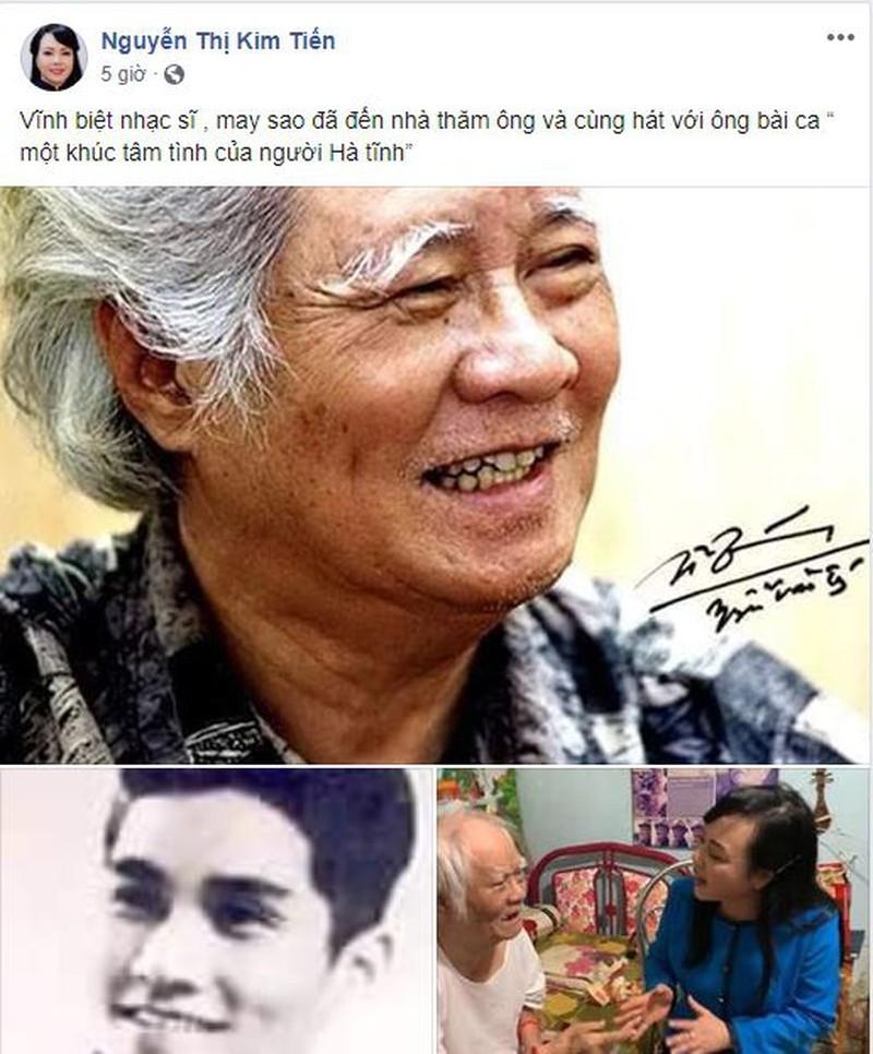 Cựu Bộ trưởng Y tế hát cùng nhạc sĩ Nguyễn Văn Tý - ảnh 1