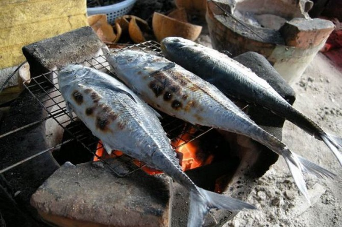 Cá sòng kho ớt xanh ngày biển khát  - ảnh 4