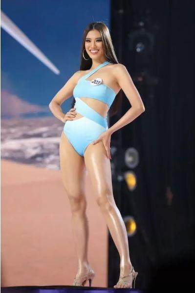 Á hậu Kim Duyên khoe dáng nóng bỏng với bikini - ảnh 3