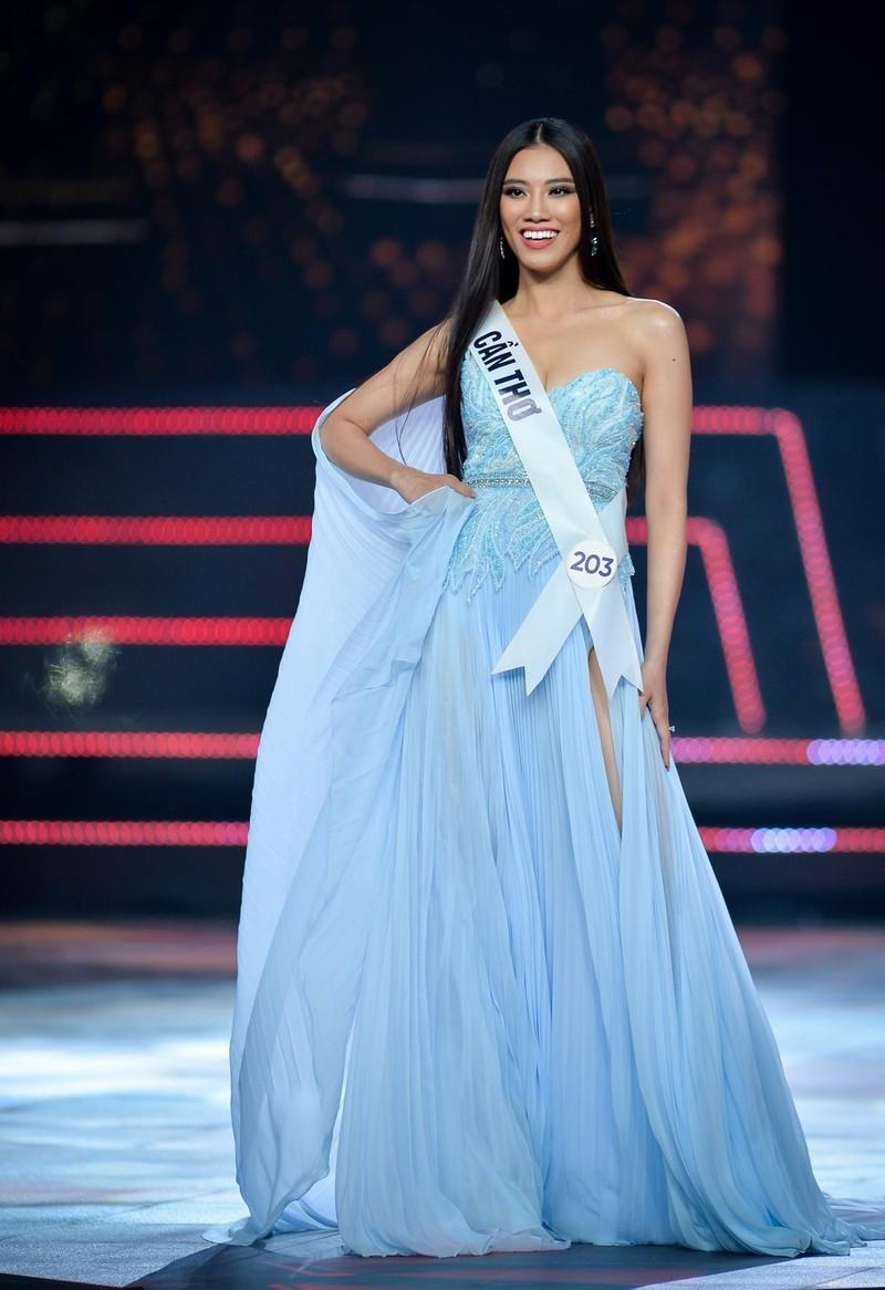 Khánh Vân, Hương Ly,Kim Duyên catwalk đẹp nhất Hoa hậu Hoàn vũ - ảnh 12