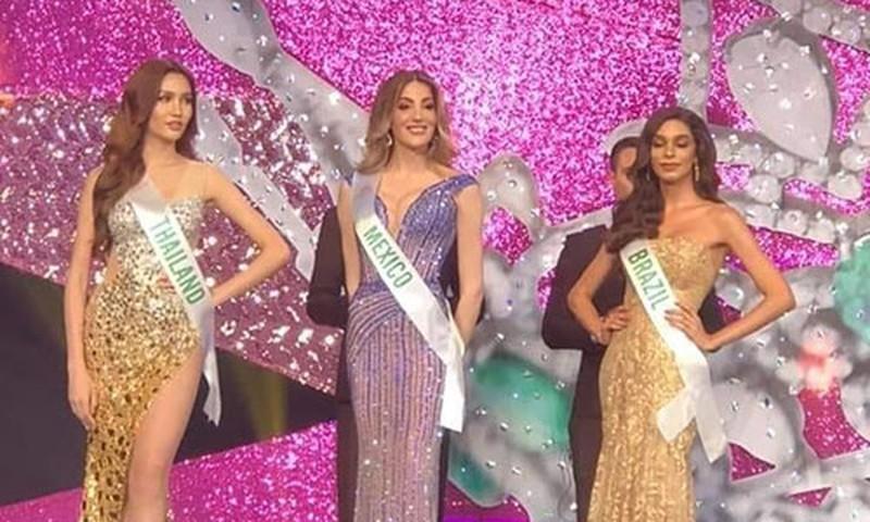 Mexico đăng quang Hoa hậu Chuyển giới, Hoài Sa trượt top 6 - ảnh 4