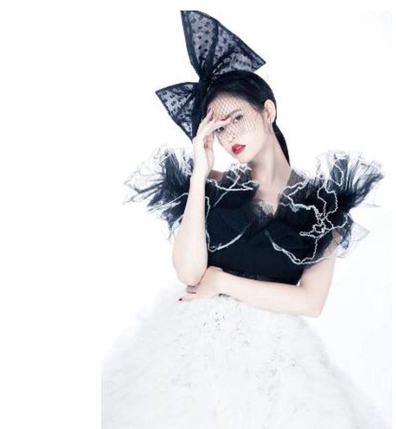 Ngắm Trương Quỳnh Anh xinh đẹp tựa nữ thần - ảnh 9
