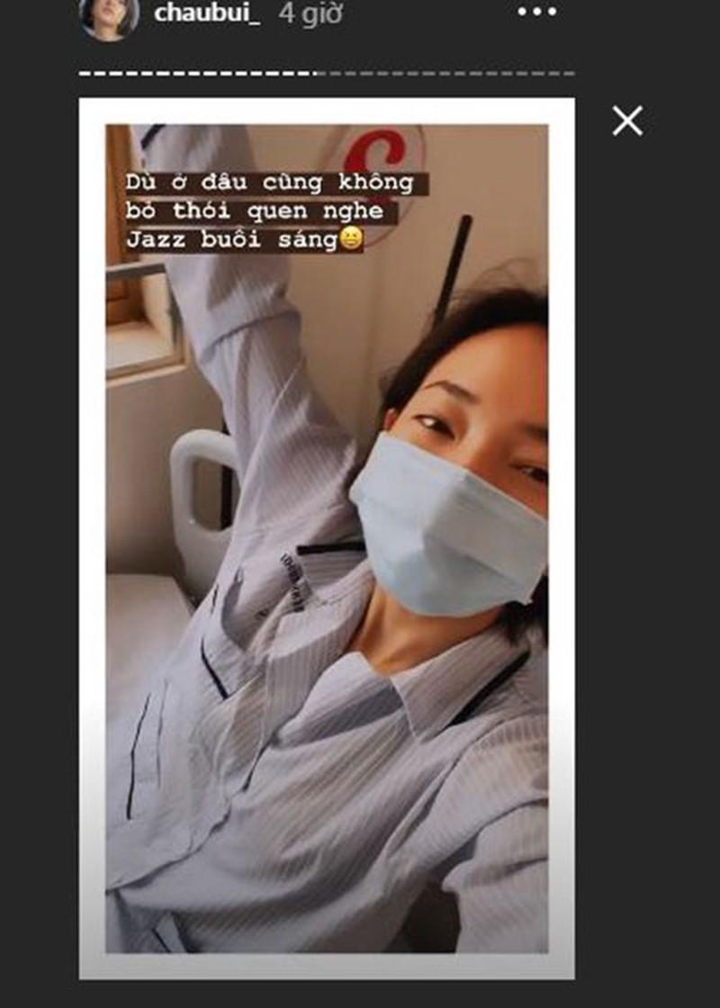 Loạt sao Việt về từ vùng dịch COVID-19, Minh Hằng khoe dáng - ảnh 3