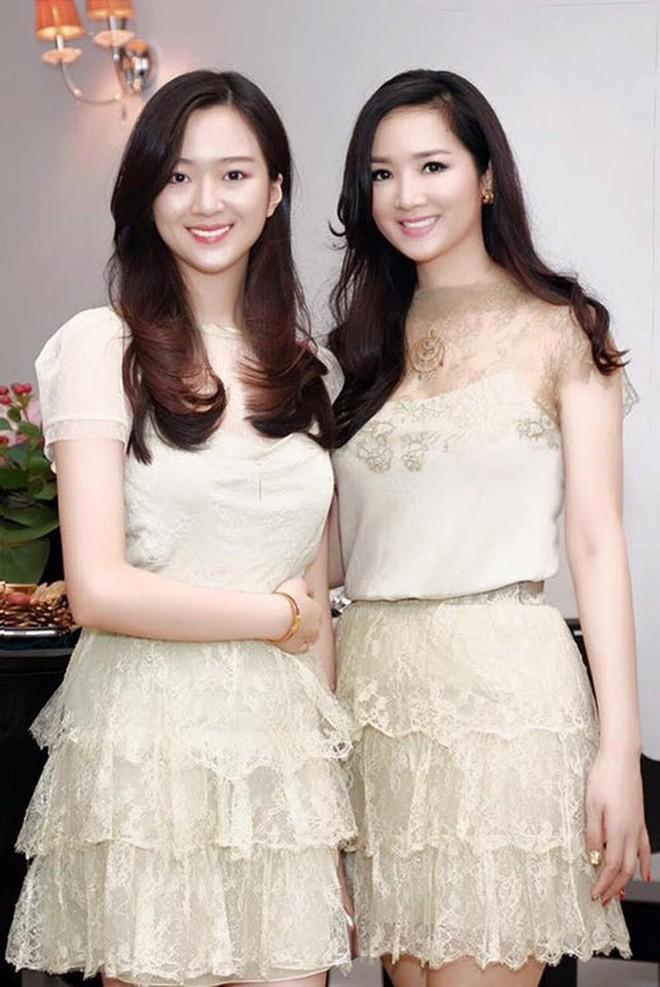 Anh Sa - con gái Hoa hậu Giáng My ngày càng xinh đẹp - ảnh 3