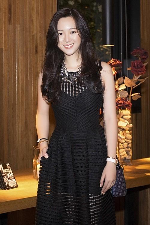 Anh Sa - con gái Hoa hậu Giáng My ngày càng xinh đẹp - ảnh 5