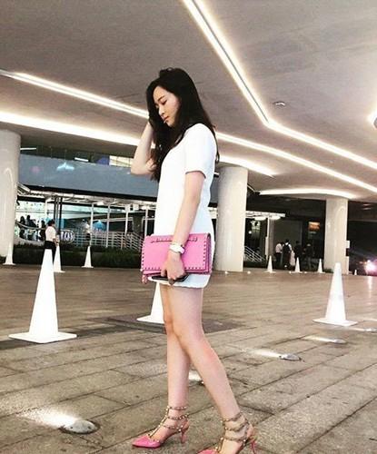Anh Sa - con gái Hoa hậu Giáng My ngày càng xinh đẹp - ảnh 6