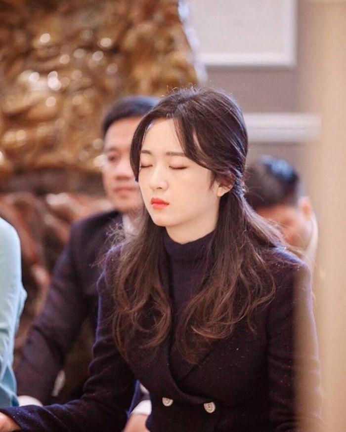 Anh Sa - con gái Hoa hậu Giáng My ngày càng xinh đẹp - ảnh 9