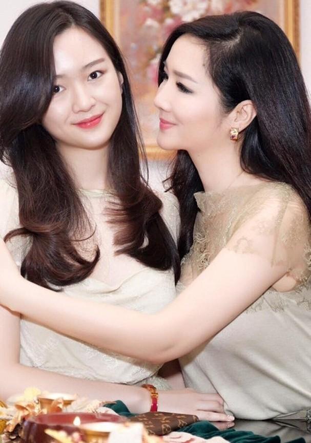 Anh Sa - con gái Hoa hậu Giáng My ngày càng xinh đẹp - ảnh 2