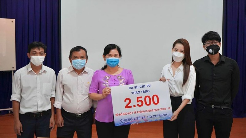 Châu Bùi cùng nhiều sao Việt chung tay chống dịch COVID-19 - ảnh 4