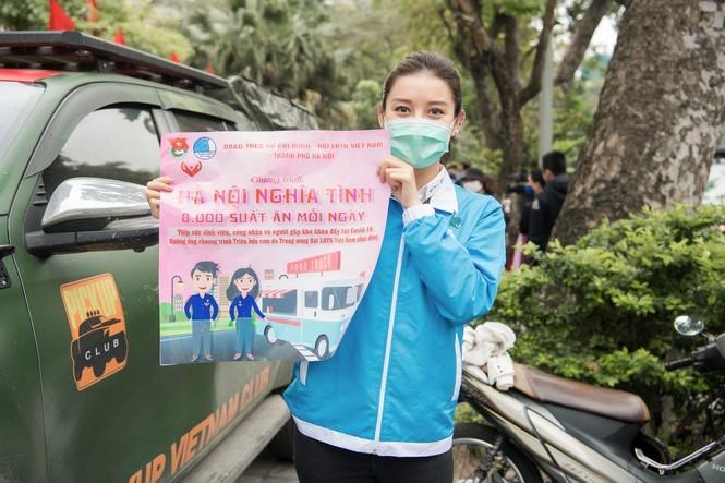 Á hậu Huyền My trao 8.000 suất ăn giúp người nghèo, sinh viên - ảnh 9