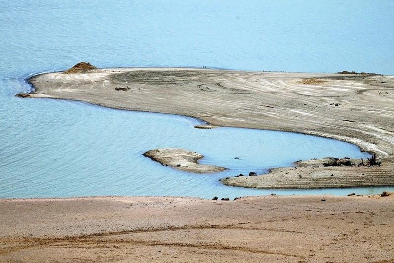 Ngỡ ngàng 'công viên cát' dưới lòng hồ Suối Dầu ở Khánh Hòa - ảnh 9