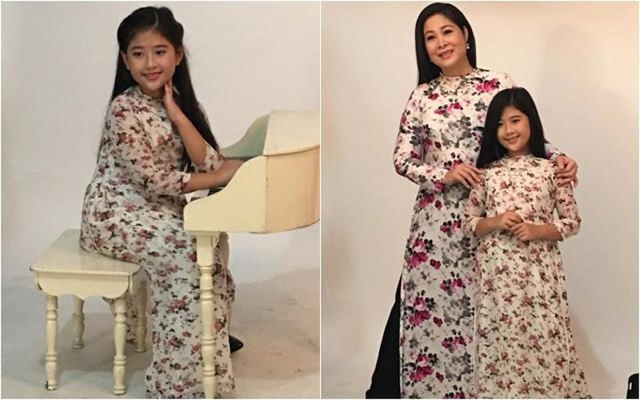 Bí Ngô con gái út xinh đẹp tài năng của NSND Hồng Vân - ảnh 13