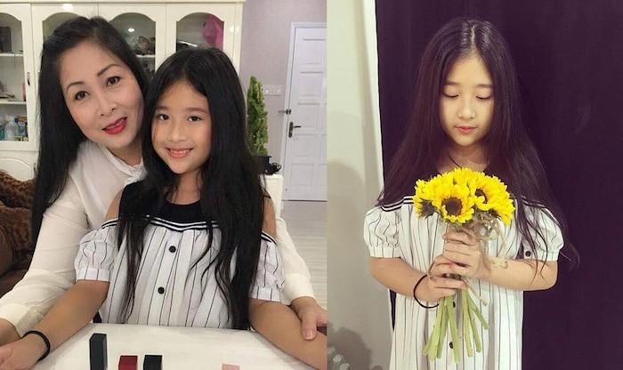 Bí Ngô con gái út xinh đẹp tài năng của NSND Hồng Vân - ảnh 2
