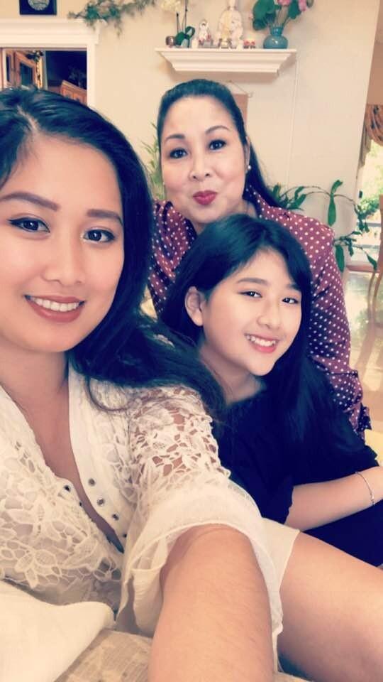 Bí Ngô con gái út xinh đẹp tài năng của NSND Hồng Vân - ảnh 8