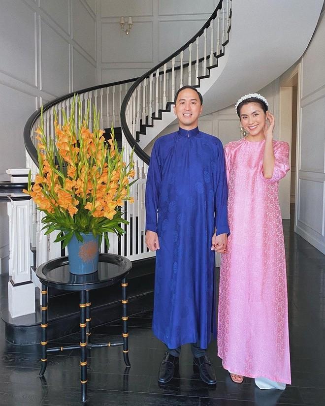 Áo dài gây thương nhớ của Tăng Thanh Hà 8 năm về trước - ảnh 5