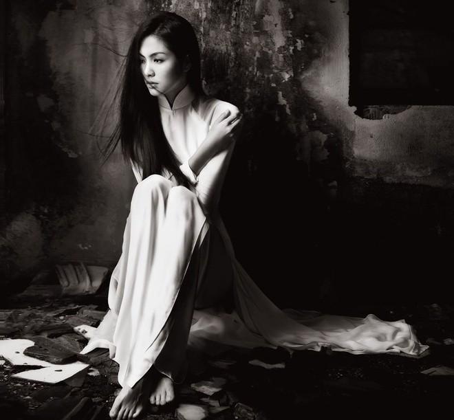 Áo dài gây thương nhớ của Tăng Thanh Hà 8 năm về trước - ảnh 4