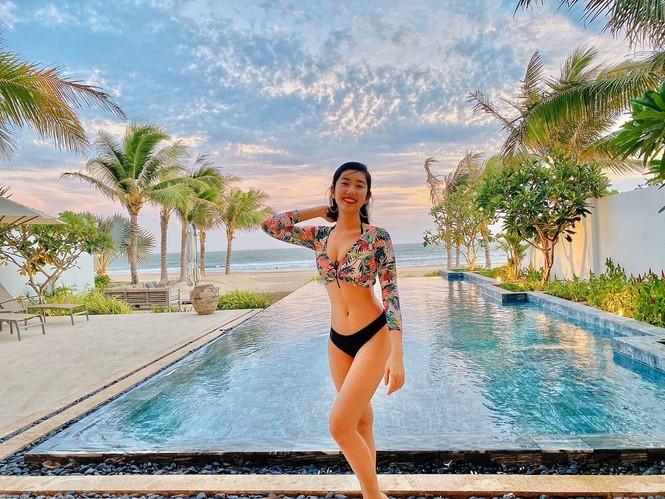 Sao Việt nghỉ lễ khoe dáng gợi cảm trên bãi biển  - ảnh 3