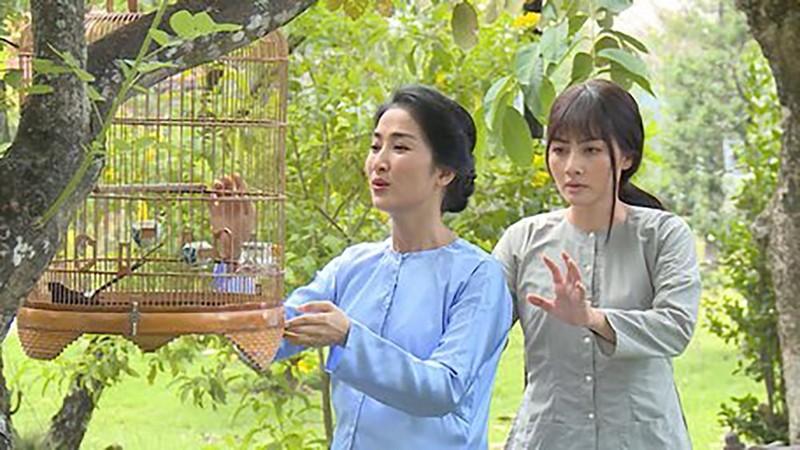 Ngọc Lan và Quỳnh Lam của Luật trời, ai gợi cảm hơn - ảnh 1