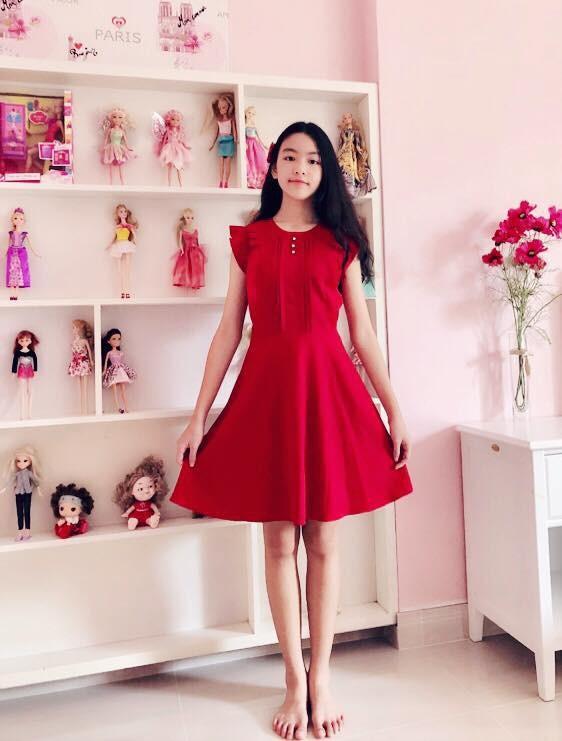 Lọ lem - con gái Quyền Linh xinh như hoa hậu - ảnh 1